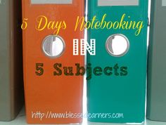 5 Days Notebooking in 5 Subjects will be sharing with you about tips and ideas of notebooking activities in some subjects.