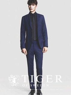 Adrien Sahores is Quite the Gentleman for Tiger of Sweden Spring Ads