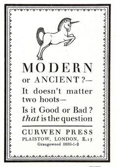 Curwen Press poster via mikeyashowrth on flickr