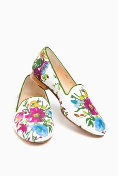 bdef6ab32bb Provence Floral Linen Gentry Loafers