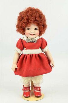 shopgoodwill.com: Donna Redhead Doll, Orphan Annie Style!