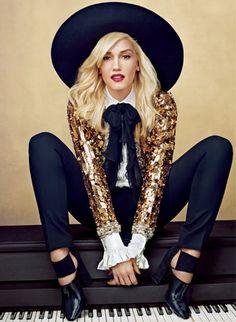 Gwen Stefani, by Annie Leibovitz