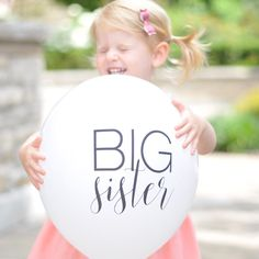 Announce your good news with these big sister | big brother balloons!
