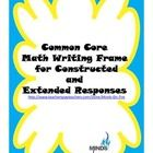 This packet contains:    Writing responses to integrate    Examples of responses    Mini-anchor charts to display and for writing folders    Writing frame ...