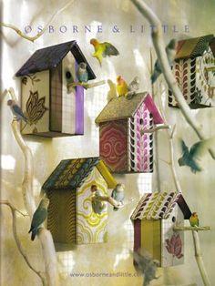 Decorar con casitas para pájaros, Decoración 2.0
