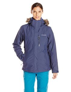 Columbia Women's Lhotse Interchange Jacket, Nocturnal/Bluebell, Large -- Click image for more details.