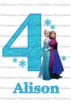 Frozen Iron On DIGI FILE Only by TuTuCuteByStephanie on Etsy, $3.00