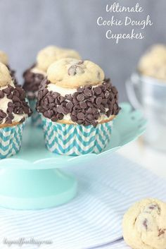 Ultimate Cookie Dough Cupcakes