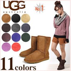 Ugg's are also cool to wear in the spring, they look really nice with leggings!