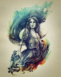 Nanda Corrêa #ilustration #art-pin it by carden