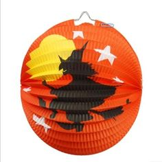 Fashion The Halloween dance props Decorative pumpkin paper lantern pumpkin lamp Charms by Coser. $7.58. The color is red and the image design will be sent at random.