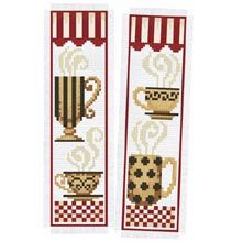 Coffee Bookmarks Counted Cross-Stitch Kit