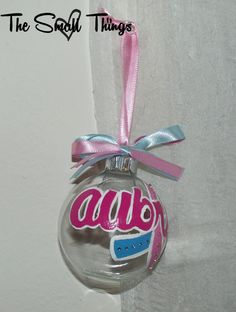 Infant Loss Awareness Ornament by AngelMomCreations on Etsy