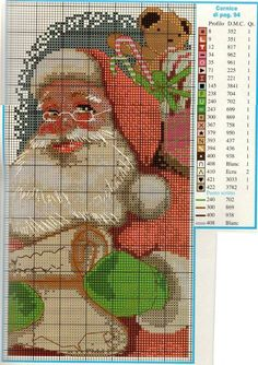 Cross stitch *<3* Point de croix Noël
