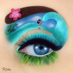of Tal Peleg& most stunning makeup art that takes it to a whole new level. - of Tal Peleg& most breathtaking makeup art that has taken it to a whole new level - Makeup Eye Looks, Eye Makeup Art, Colorful Eye Makeup, Crazy Makeup, Eye Makeup Tips, Cute Makeup, Makeup Set, Makeup Hacks, Makeup Ideas