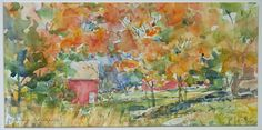 37 Annual Members Show at Carriage Barn Arts Center in New Canaan CT - Painting of Weir Farm in Wilton http://blog.ctnews.com/serra/2014/08/28/37-annual-members-show-at-carriage-barn-arts-center
