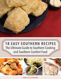 Free e cookbook 9 easy southern comfort food recipes recipe 18 easy southern recipes the ultimate guide to southern cooking and southern comfort food free ecookbook forumfinder Gallery