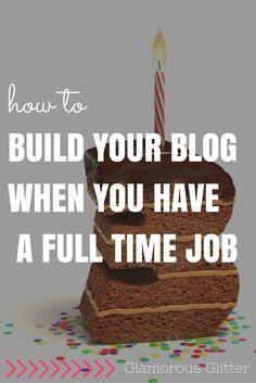 Want to grow your blog but don't have the time? Here's a list of great tools for building your blog when you have a full time job. With free printable.
