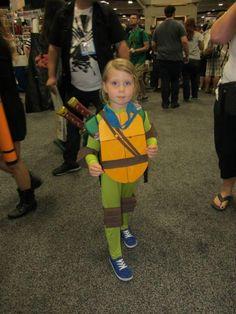 The Cutest Teenage Mutant Ninja Turtle At Comic-Con [Cosplay] | Fashionably Geek