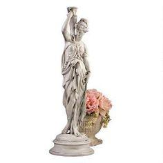 """""""Dione, the Divine Water Goddess"""" Garden Statue $69.95"""
