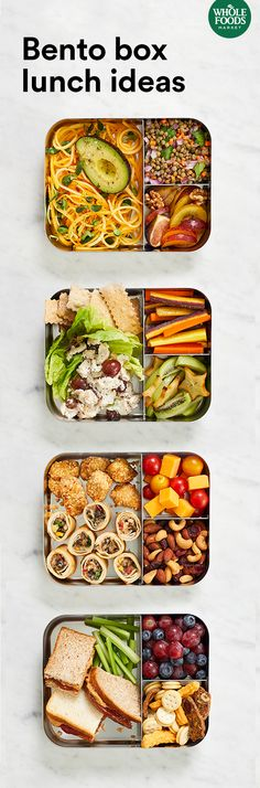 Can't settle on one thing for lunch? There's a solution for that... Have all the things! Get the scoop on 5 simple bento box combinations that'll take lunchtime to the next level. Smoothie Recipes For Kids, Smoothies For Kids, The Next, Lunch Time, Bento Box, Children, Kids Meals, Zucchini, Toddler Smoothie Recipes