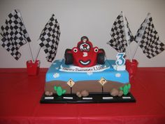 Roary the Racing Car Cake | Flickr - Photo Sharing!