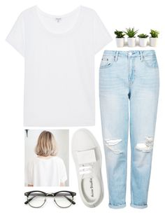 """Noora"" by emilypondng ❤ liked on Polyvore featuring Splendid, Topshop and Acne Studios"