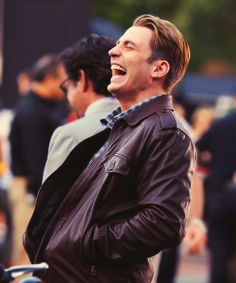 Sometimes when I'm feeling sad I look at pictures of Chris Evans and feel happy again.