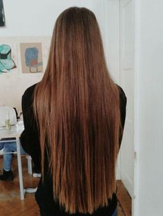 long hair. I think to the waist is fine, but anything longer is too long