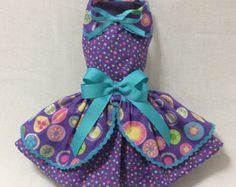 Black Bag And Shoes Dog Dress by LittlePawsBoutique on Etsy