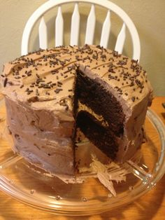 Gluten-Free Glutton Girls: Let Them Eat Cake. Coconut flour and chocolate cake. Sounds and actually looks delicious. I'm curious to try this, it requires 10 eggs
