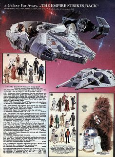 Star Wars Toys 1980 Sears Christmas Catalog P631