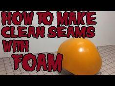 Cosplay DIY Armor Tutorial | How To Make Clean Seams for Foam Armor, Tutorial - YouTube