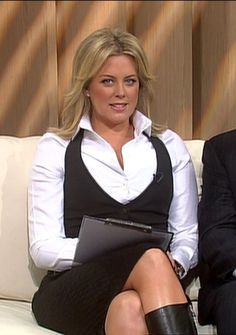 samantha armytage | Samantha Armytage Selma Bouvier, My Friend Quotes, Corporate Women, Santa's Little Helper, Cool Boots, Get Over It, Lavender, Woman