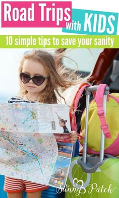 Taking road trips with kids can be stressful! Be prepared for your next road trip with these fun activities, ideas, and free road trip printables. My favorite tip? Make your kids travel binders with fun printable activities to keep them busy.