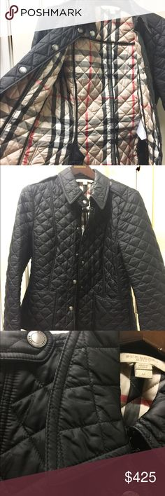 Burberry Brit Jacket Burberry Brit Jacket, barely worn! Burberry Jackets & Coats