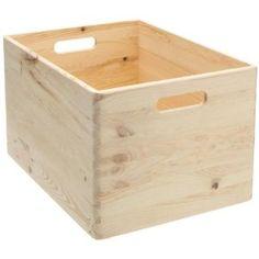 Zeller Present Handels GmbH 13143 Caisse en bois tendre 40 x 30 x 24 cm (Import Allemagne): Amazon.fr: Cuisine & Maison