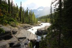Awesome Mistaya Canyon, Jasper National Park