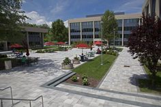 Unilock - Harrison Medical Building Umbriano Paver in Westchester, New York
