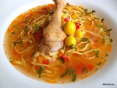 Thai Red Curry, Food And Drink, Soup, Biscotti, Cooking, Ethnic Recipes, Kitchen, Foods, Food