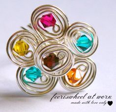 wire ring by ferriswheelatwork on Etsy, $26.00