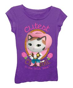 Take a look at this Sheriff Callie 'Cutest Cowgirl' Tee - Girls today!