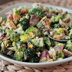 The Best Broccoli Salad Recipe - ZipList