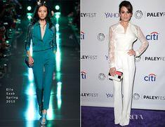 Lea Michele In Elie Saab – PALEYFEST LA Presents 'Glee'