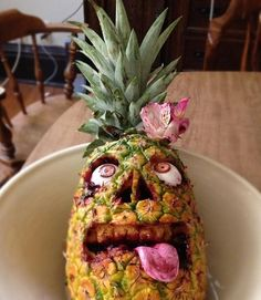 Make your own Zombie Luau Pineapple
