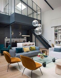 Inside Home, Piece A Vivre, Deco Design, Townhouse, My House, Art Deco, Loft, Arno, Postmodernism