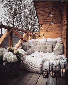 Best Home Decorating Ideas - Top Designer Decor - Balkon Ideen - Dekoration Dream Rooms, Dream Bedroom, Master Bedroom, Outdoor Reading Nooks, Small Balcony Decor, Balcony Ideas, Balcony Garden, Garden Nook, Balcony Grill