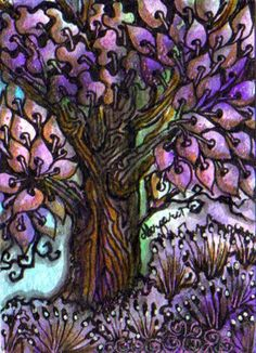 Tree of Life ...Hope by Margaret Storer-Roche.      Love this!
