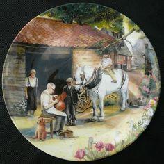 Royal Doulton talerz kolekcjonerski na prezent