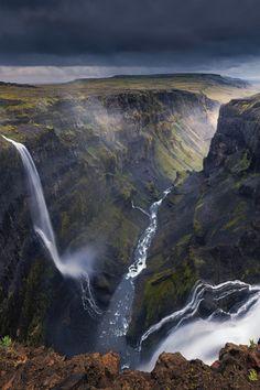 "124m Haifoss waterfall - Iceland #rckeyru Follow me <a href=""https://ru.pinterest.com/rckeyru/boards/"">>>>>>> CLICK HERE TO FOLLOW: @Rckeyru</a>"